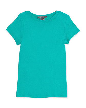 Girls' Favorite Tee, Peacock Blue, 4-6X