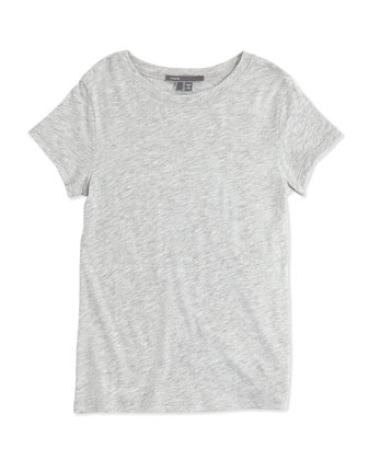 Girls' Favorite Tee, Gray, 4-6X