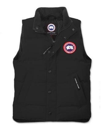 Youth Vanier Arctic-Tech Vest, Dark Blue, XS-XL