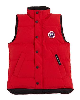 Youth Vanier Arctic-Tech Vest, Red, XS-XL