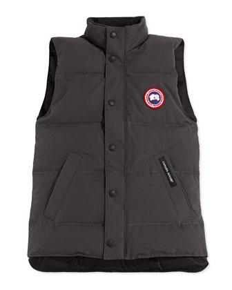 Youth Vanier Arctic-Tech Vest, Graphite, XS-XL