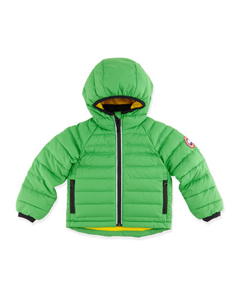 Kids' Bobcat Hooded Jacket, Green, Sizes 2-7