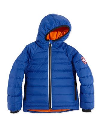 Kids' Bobcat Hooded Jacket, Royal, Sizes 2-7