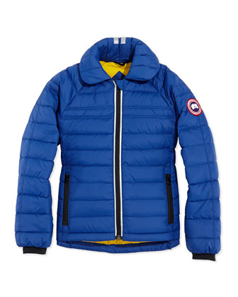 Youth Charlotte Quilted Jacket, Royal, XS-XL