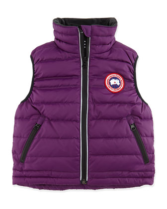 Bobcat Puffer Vest, Arctic Purple, Girls' Sizes 2-7