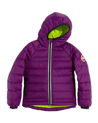 Kids' Bobcat Hooded Jacket, Arctic Dusk, Sizes 2-7