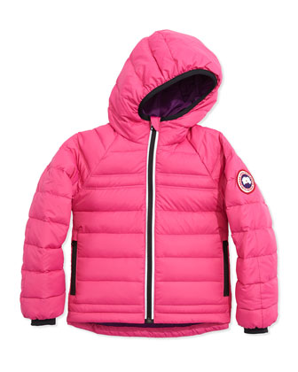 Kids' Bobcat Hooded Jacket, Summit Pink, Sizes 2-7