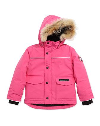 Kids' Lynx Parka, Summit Pink, Sizes 2-7