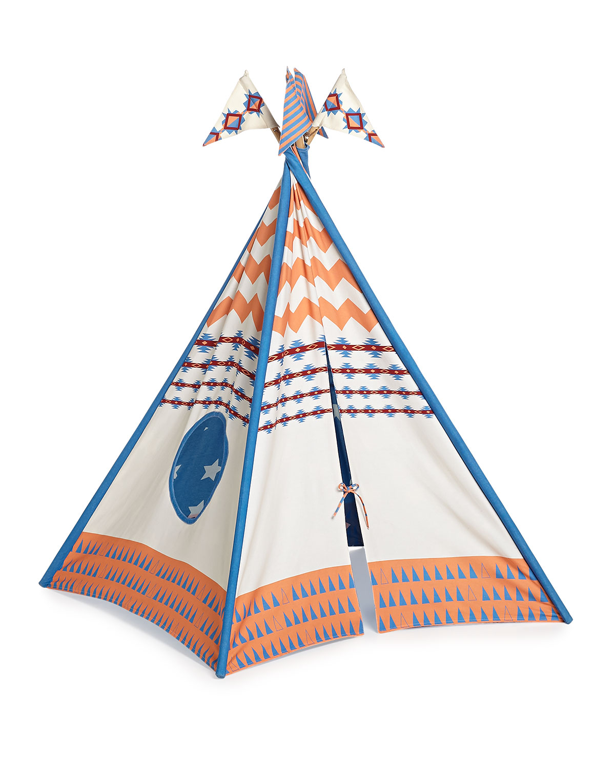 Pacific Play Tents - Boys' Canvas Play Tent - Pacific Play Tents - Blue