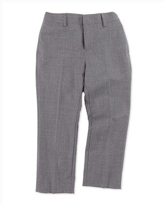 Suit Jacket, Poplin Shirt & Suit Trousers