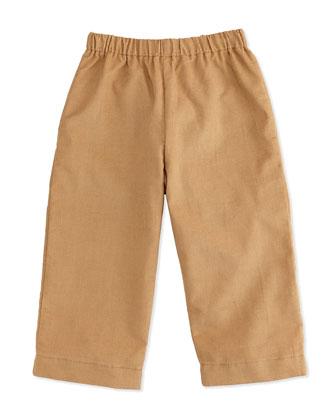 Luke Corduroy Pants, Khaki, 3-24 Months
