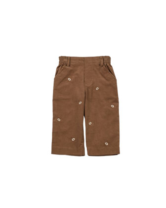 Good Sport Corduroy Pants, Camel, 12-24 Months