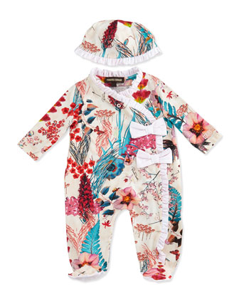 Newborn Two-Piece Gift Set, Floral
