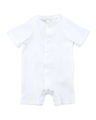 Angel Wing 3/4-Sleeve Sleepshirt, White, 0-18 Months