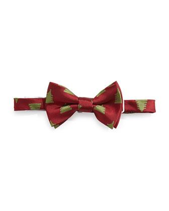 Christmas Tree Bow Tie, Red