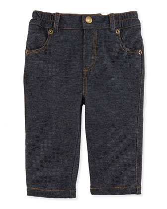 Knit Denim Pants, 3-24 Months