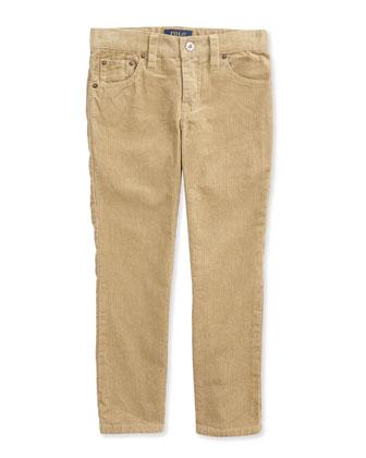 Blake Plaid Twill Shirt & 14-Wale Corduroy Pants, 2T-3T