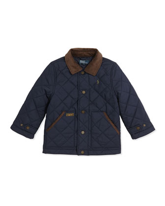 New Hagan Quilted Jacket, Sizes 4-7