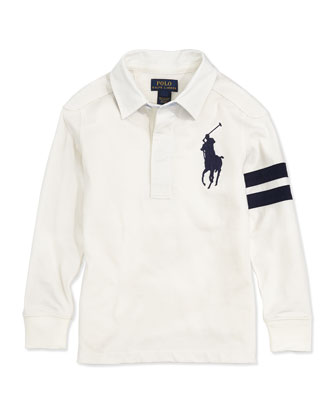 Big Pony Rugby Jersey Polo, Boys' Sizes 4-7