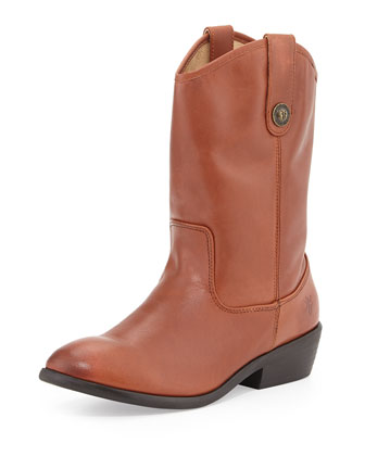 Melissa Button Boots, Cognac, Youth