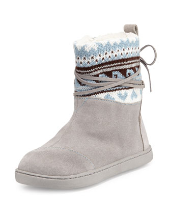 Fair Ilse Nepal Boots, Gray, Youth