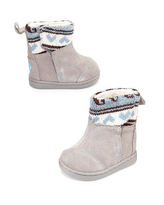 Fair Ilse Nepal Boots, Gray, Tiny