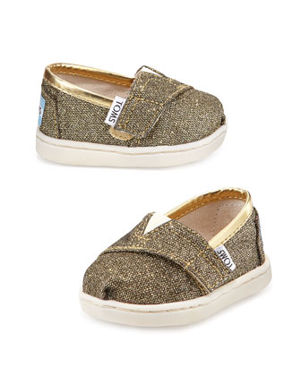 Glimmer Classic Slip-On, Gold, Tiny
