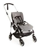 Bee3 Stroller Seat Fabric, Black