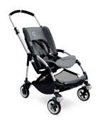 Bee3 Stroller Seat Fabric, Gray Melange