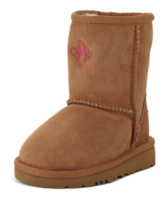 Monogram Classic Boot, Chestnut, Toddler