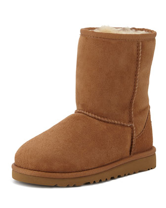 Kids' Monogram Classic Boot, Chestnut, 13T-4Y