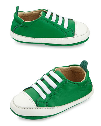 Slip-On Leather Sneakers, Infant/Toddler