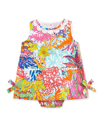 Baby Lilly Pulitzer Floral-Print Shift Dress, 3-24 Months