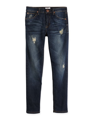 Jagger Slim-Fit Jeans, Blue Haze, Sizes 8-14