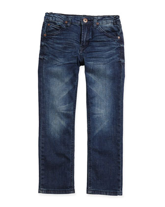 Parker Straight-Fit Blue Crush Jeans, Sizes 4-7