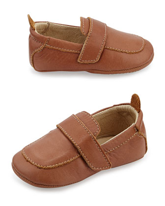 Soft Leather Loafer, Tan, Infant/Toddler