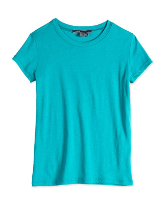 Girls' Favorite Tee, Teal, 4-6X