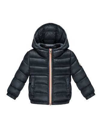 Dominic Hooded Long-Season Puffer Jacket, 12M-3Y