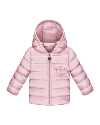 Milou Long-Season Packable Jacket, Light Pink, 12M-3Y