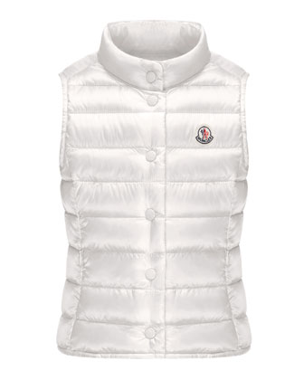 Liane Long Season Packable Vest, Sizes 8-14