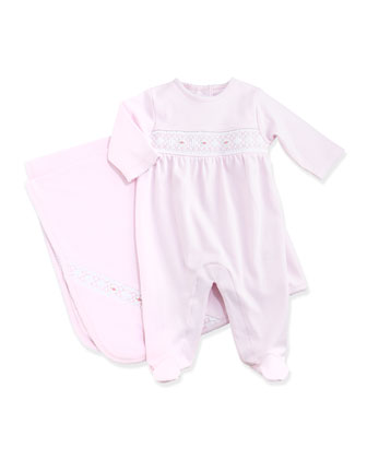 Classic Baby Distinct Blanket,Pink