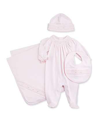 Summer Bishop Blanket, Pink