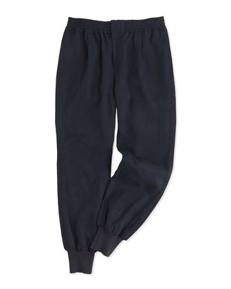 Tencel?? Jogger Pants, Blue, Kids' Sizes S-XL