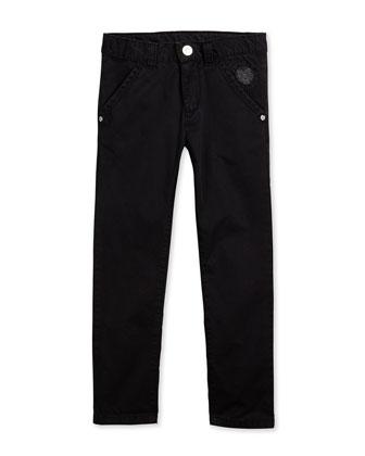 Fleece-Lined Zip Hoodie, Graphic-Print Tee & Chino Trousers