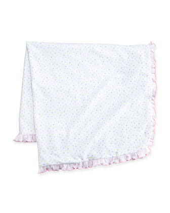 Summer Fun Polka Dot Blanket, Pink