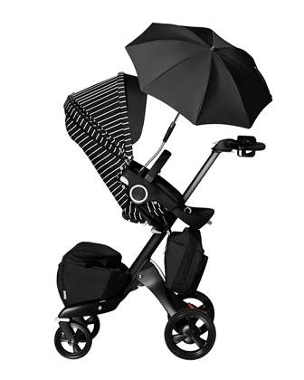 True Black Xplory Limited Adjustable Stroller