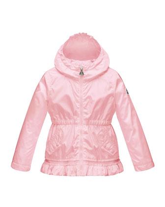 Noemie Hooded Raincoat, Size 2-6