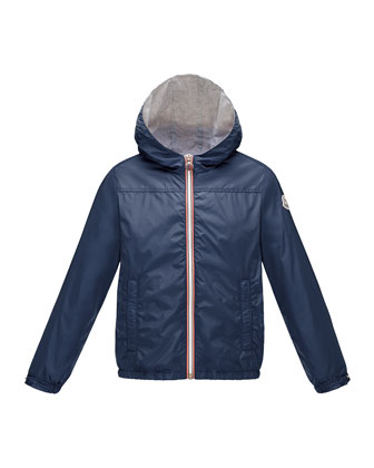 Urville Jersey-Lined Hooded Jacket, Sizes 8-14