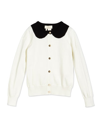 long-sleeve kati cardigan, cream, size s-xl