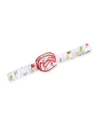 Red Berry Headband, White/Red